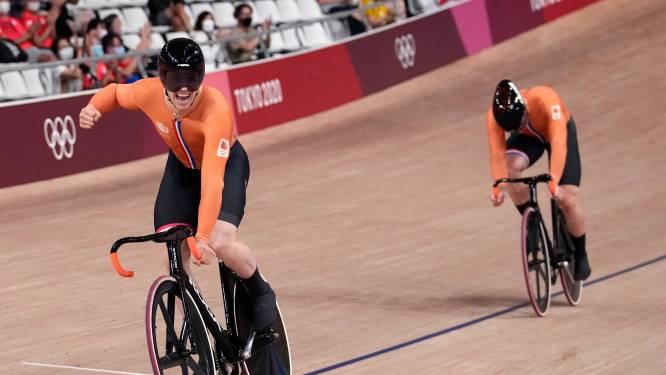 Waanzinnige climax in strijd om olympische titel: goud Lavreysen, zilver Hoogland