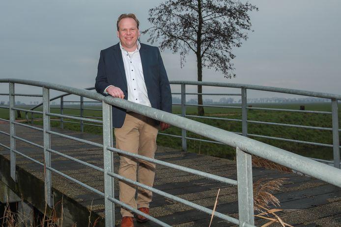 Thomas Zwiers uit Zevenbergen is voorzitter van de Stichting Fort Sabina.