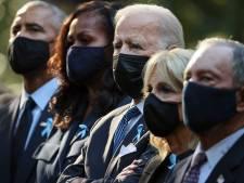 Biden bezoekt rampplekken op twintigste gedenkdag 9/11