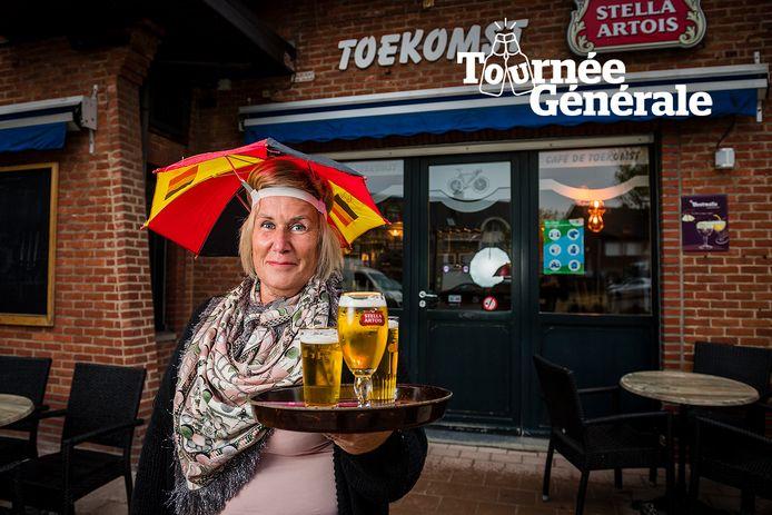 Bazin Pegie Van Tendeloo van café De Toekomst in Vorselaar.