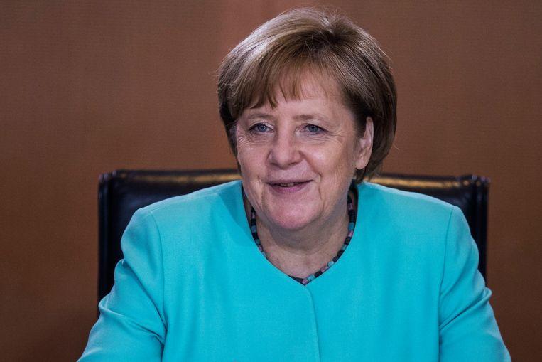 Angela Merkel. Beeld Photo News