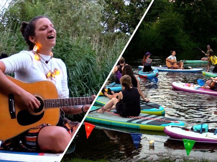 Het eerste Sup-concert van Nederland in de Bommel