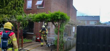 Woningbrand in Zutphen: huis vol rook