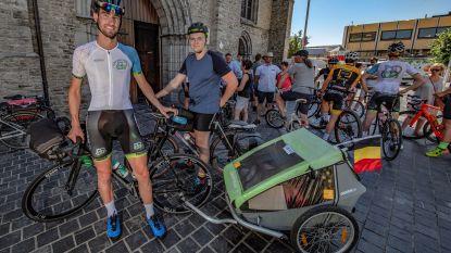 Met de fiets naar de Noordkaap voor Kom op tegen Kanker