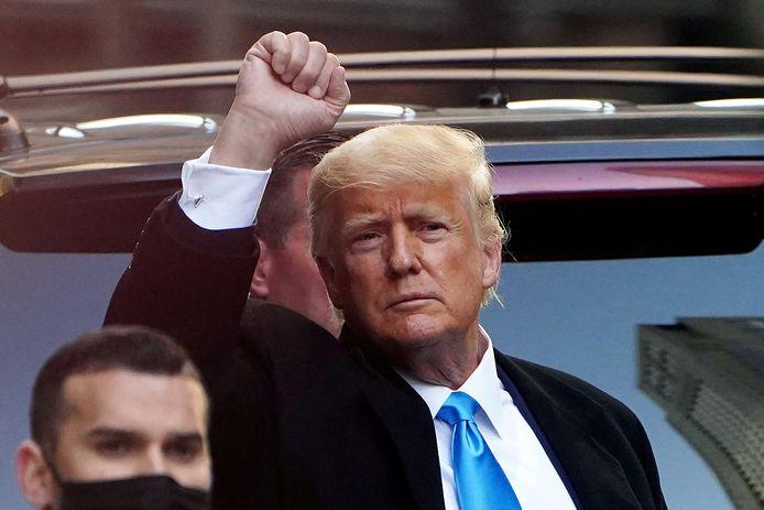 Voormalig president Donald Trump.