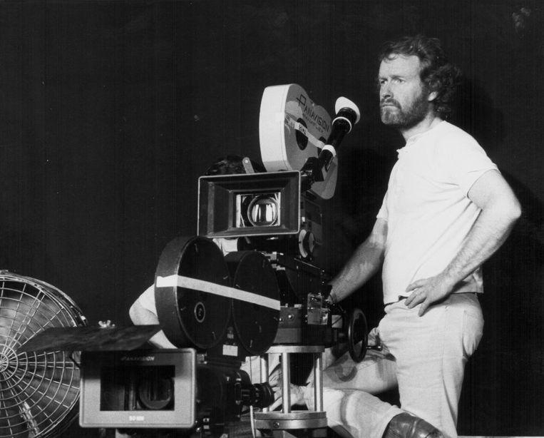 Regisseur Ridley Scott op de set van Alien, 1979. Beeld Getty Images