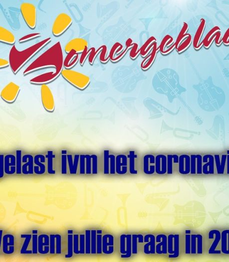Ook Zomergebloas slaat jaartje over in Hilvarenbeek