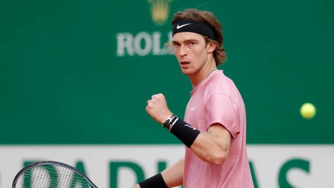 Impressionante Rublev stunt en kegelt Nadal uit toernooi Monte Carlo