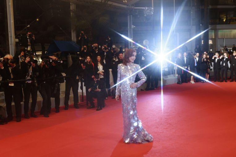 Isabelle Huppert bij het 72ste filmfestival van Cannes in 2019.  Beeld Getty Images