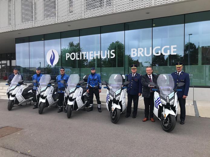 Nieuwe elektrische scooters Brugge