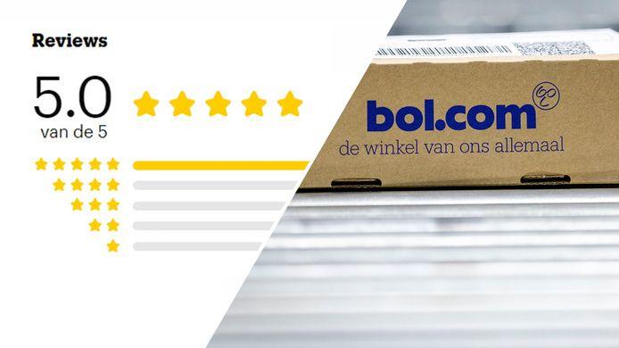 Bol.com krijgt opeens 5 sterren van klanten.