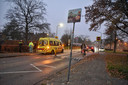 Een vrouw werd geschept door een automobilist op de kruising van het Stroomdalpad met de Baerdijk in Oisterwijk.