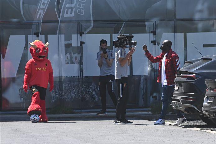 Red et Romelu Lukaku.