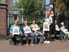 Guerilla-promotie Enschede wekt woede van Winterswijk