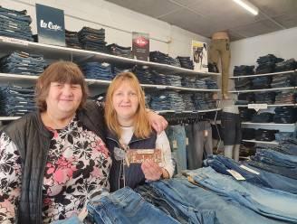 """Moeder en dochter vieren tiende verjaardag van hun jeanswinkel: """"Geen feestje op 15 april, maar we willen klanten later nog wel verwennen"""""""