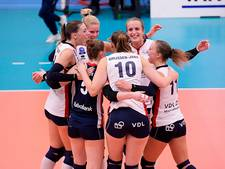Volleybalsters Sliedrecht verder in Champions League