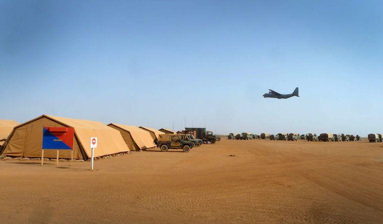 Gao, belangrijkste basis van Franse militairen in Mali Beeld ANP Communique