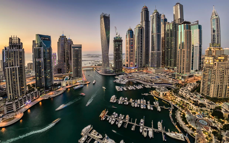 Criminelen wanen zich veilig in Dubai. Beeld Getty Images