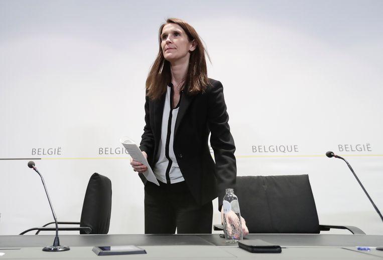 Premier Sophie Wilmès. Beeld EPA
