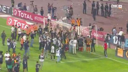 Ongeziene taferelen in Afrikaanse Champions League: finale ligt anderhalf uur stil, tegenstander weigert verder te spelen