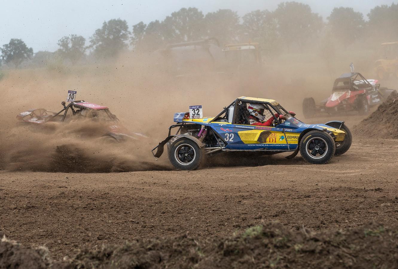 De autocross in Gendringen in 2019.