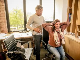 Lieven Maesschalck legt uit hoe je als thuiswerker rug- en nekklachten vermijdt