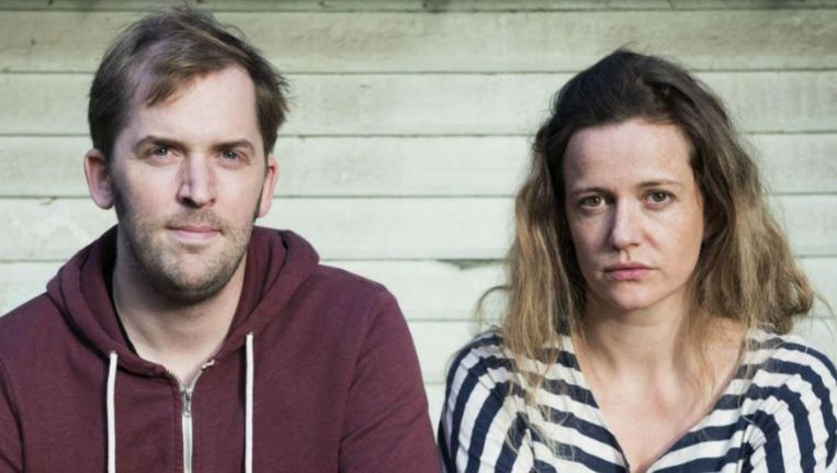 Jonas Geirnaert en Julie Mahieu. Beeld Telenet/SBS