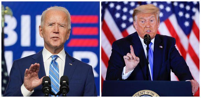 Na een lange verkiezingsavond- en nacht is nog niet bekend wie de Amerikaanse presidentsverkiezingen heeft gewonnen. In vier swing states is het tellen van de stemmen nog lang niet afgerond.
