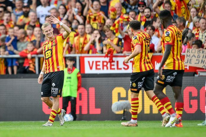 Vijf goals in vier matchen voor de vormzwangere Nikola Storm.
