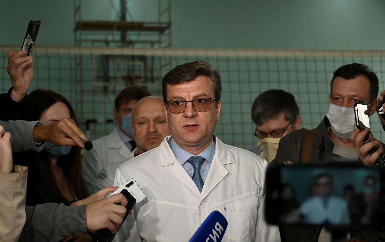 Aleksandr Murakhovksky werd in november gepromoveerd tot gezondheidsminister van de regio Siberië.