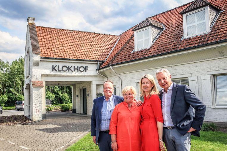 (vlnr): Piet Lecot en Ann Vandermarliere hebben Klokhof verkocht aan Valery Buyse en Rudy Maes van Eccellenza.