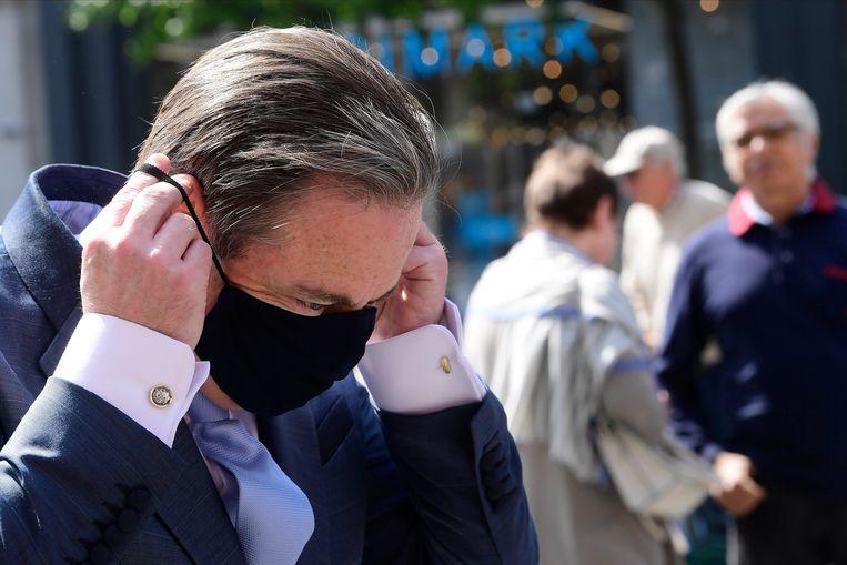 Tijdens de coronacrisis haperde de communicatie.  Beeld Photo News