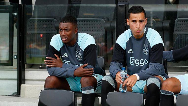 Bazoer en El Ghazi zijn vertrokken bij Ajax. Beeld Pro Shots
