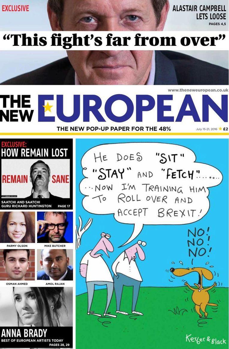 The New European. Beeld