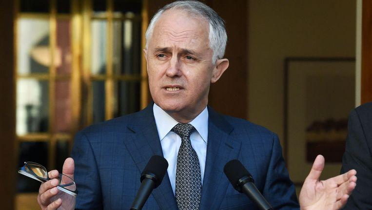 Malcolm Turnbull. Beeld EPA