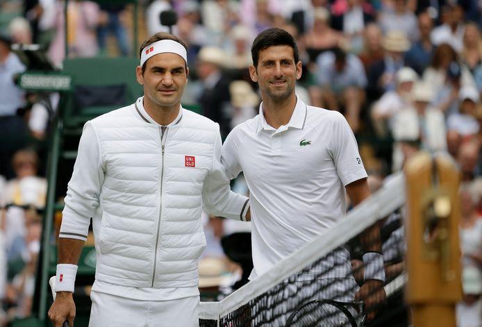 Novak Djokovic a égalé le record de Roger Federer, le Suisse le félicite.