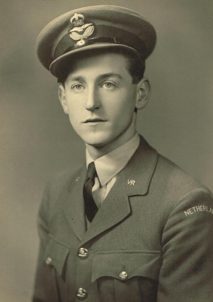 Oorlogsvlieger Gerrit-Jan ten Duis.