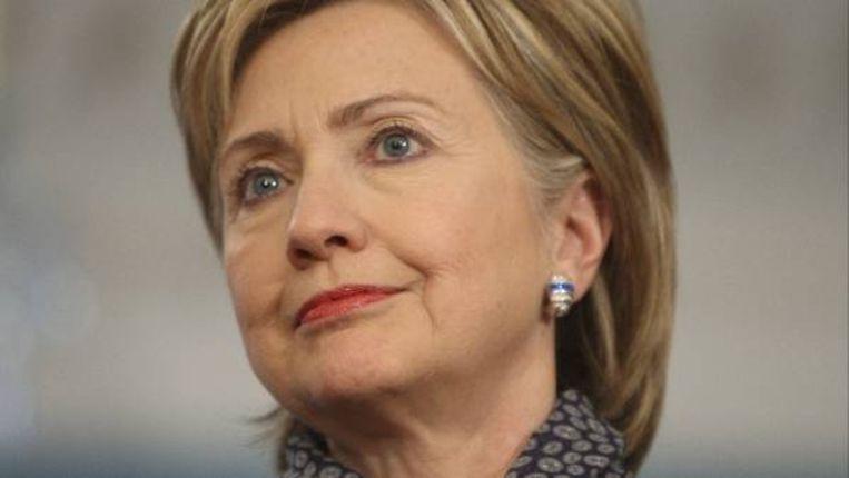 De Amerikaanse minister van Buitenlandse Zaken, Hillary Clinton (AP) Beeld