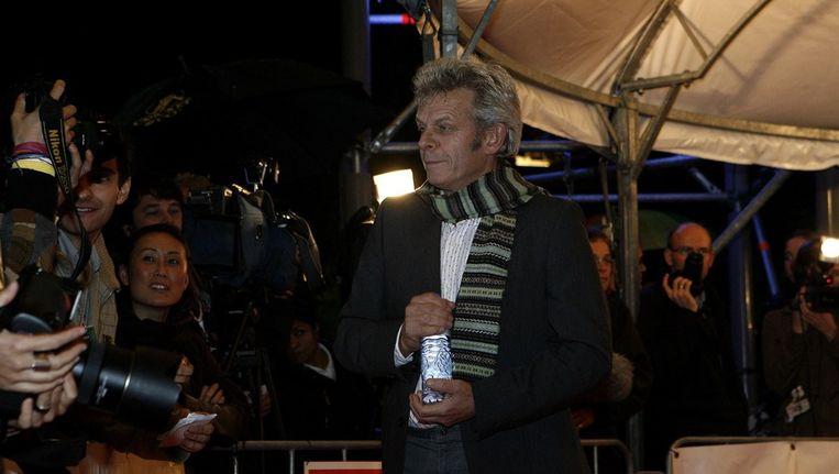 Alex van Warmerdam op de rode loper in 2006, toen zijn film Ober werd genomineerd voor een Gouden Kalf. © ANP Beeld
