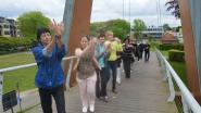 Workshops als voorbereiding voor dansketting tijdens 'Dag van de Dans'
