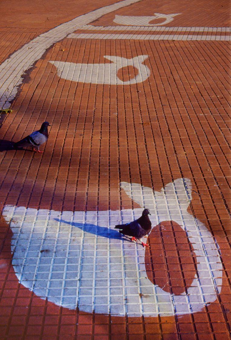 Straatmonument Dwaze Moeders, Buenos Aires, 1993. Beeld Eddy Posthuma de Boer