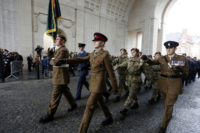 """""""Hopelijk kunnen we de Britten op 11 november bij wapenstilstand verwelkomen, want zonder hen lukt het niet."""""""
