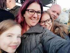 Spectaculaire ballonvaart voor Eindhovense Angela en haar gezin: 'De hele buurt hielp tijdens noodlanding'