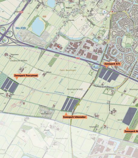Groen licht voor 40 hectare aan zonneparken in Beuningen: vergunning verleend