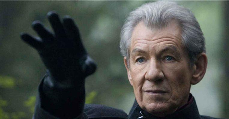 Ian McKellen in X-Men van Bryan Singer. Beeld