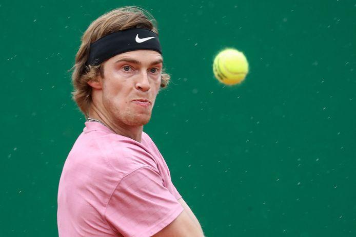 Andrey Rublev n'a rien pu faire contre Stefanos Tsitsipas.