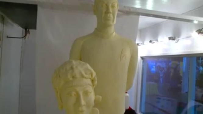 Zo zien personages 'Star Trek' eruit in... boter