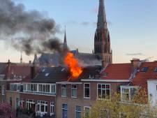 Flinke schade bij felle woningbrand in Willemstraat