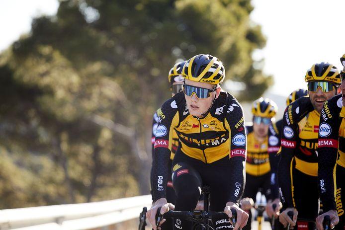 Gijs Leemreize tijdens een trainingskamp in het Spaanse Calpe.