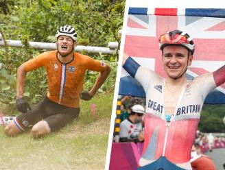 Straffe kost: wonderboy Pidcock verovert solo goud in het mountainbike, Van der Poel naar ziekenhuis na zware val